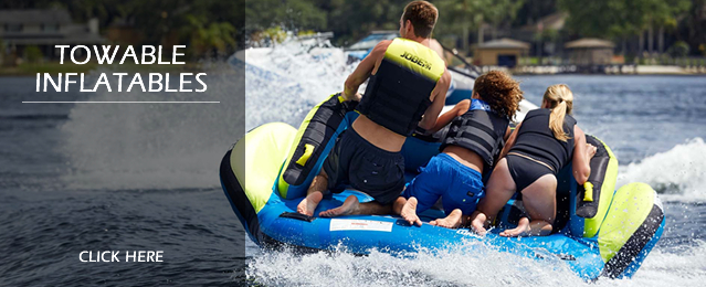 Towable Inflatable Tubes and Ringos, Ski Tubes and Banana Boats, Water Toys and Towable Toys